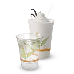 Bare® by Solo® Eco-Forward® RPET Clear Cups