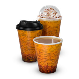Stock Printed Fusion® Graphically-Enhanced Insulated Cups