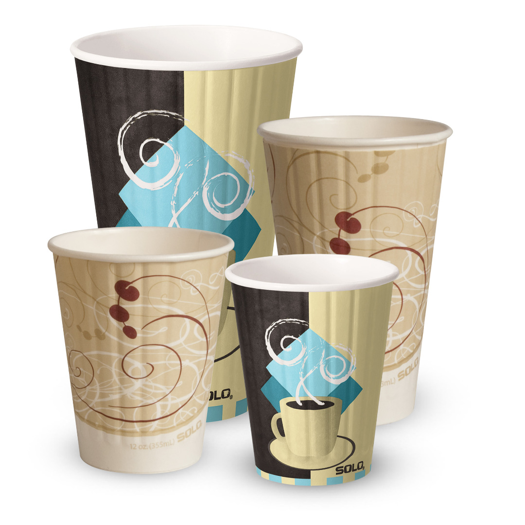 Duo Shield® Insulated Paper Hot Cups