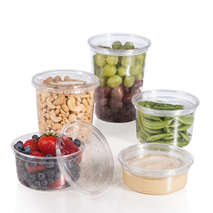 Bare® by Solo® Eco-Forward® RPET Deli Containers and Lids