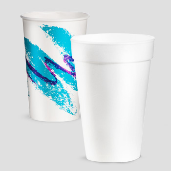 paper and foam cups